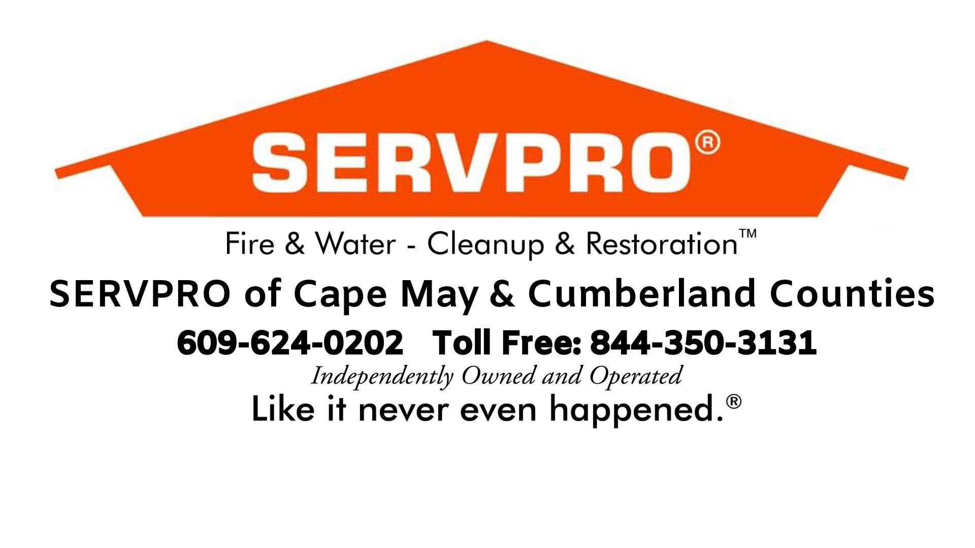 Servpro Of Cape May & Cumberland Counties